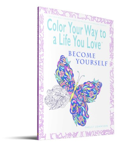 coloring books for adults Become Yourself