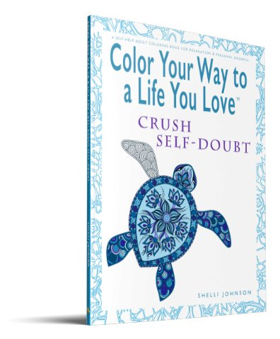 coloring books for adults Crush Self-Doubt