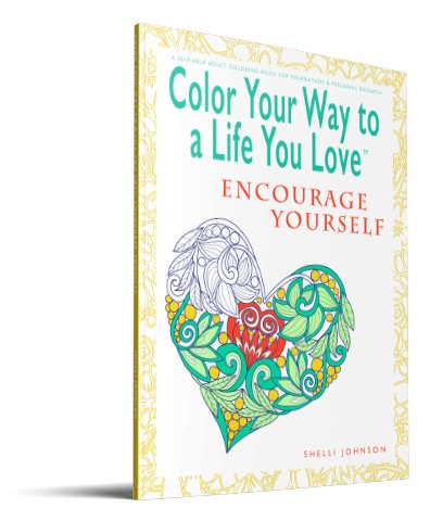 coloring book for adults Encourage Yourself