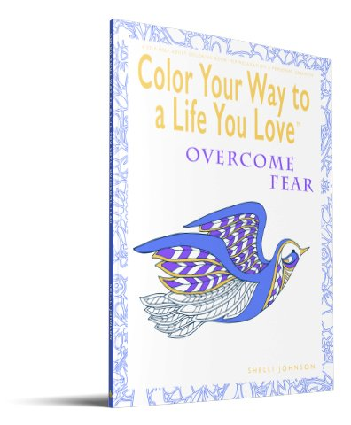 coloring pages for adults Overcome Fear adult coloring pages