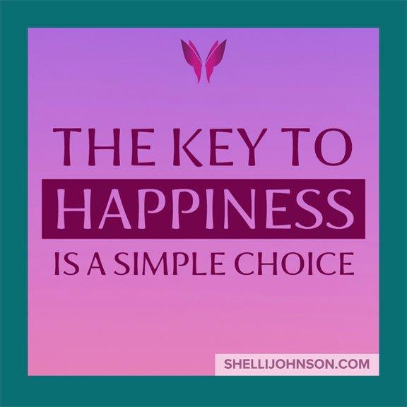 How To Be Happy ShelliJohnson.com