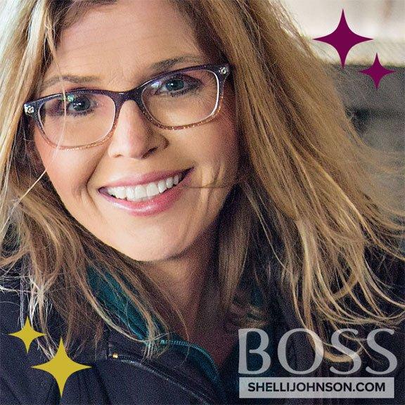 woman entrepreneur boss shelli johnson shellijohnson.com